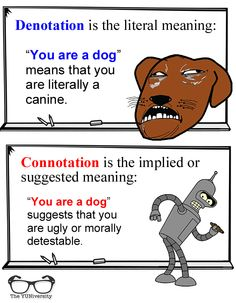Denotation vs Connotation