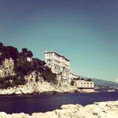#Fontvieille Vue de Fontvielle #Monaco #bluesky #museum #oceanography #sea #fontvieille by eolil.fg from #Montecarlo #Monaco