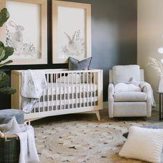 Nursery Wall Decor, Baby Room Decor, Nursery Room, Accent Wall Nursery, Baby Boy Nursery Themes, Baby Nursery Neutral, Nursery Modern, Natural Nursery, Neutral Nurseries
