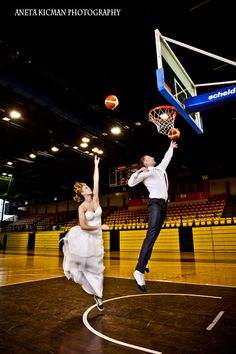 basketball couple