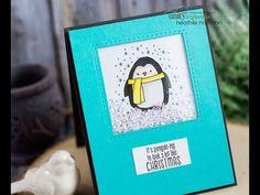 Houses Built of Cards    Penguin Shaker Card
