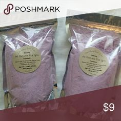 Relaxing Detoxifying Bath Salts 24 Oz All Natural Relaxing Detoxifying Bath Salts With Lavendar And All