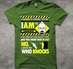 """""""I AM THE DANGER"""", from Breaking Bad"""