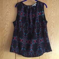 Chains Sleeveless Top Perfect condition! Chaus Tops Blouses