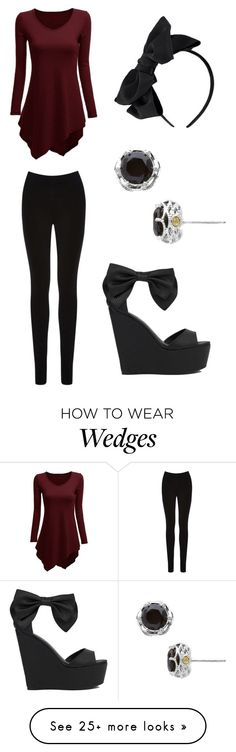 """Untitled #33"" by fearslie on Polyvore featuring Oasis, Privileged by J.C. Dossier and Tacori"