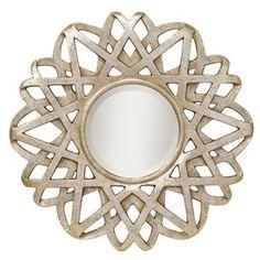 Such a pretty mirror.