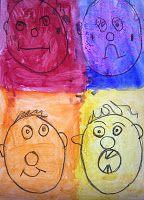 kindergarten...my many colored days