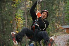 Check out Gatlinburg attraction deals! Yes, that's Ludacris in Gatlinburg ziplining.