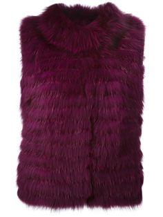 #yvessalomon #meteobyyvessalomon #furvest #vest #purplevest #purple #purplefurvest #womenvest www.jofre.eu