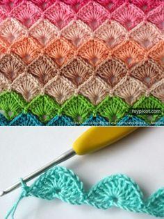 Crochet Stitch Inspiration
