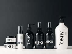 MUSQ Natural Cosmetics — The Dieline - Branding & Packaging