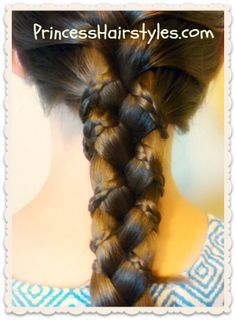 Pretty and easy braiding tutorial, micro braid lattice wrap