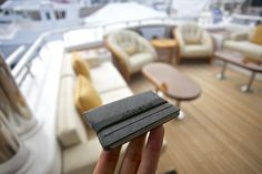 Slim & Thin RFID blocking wallet by Ainste. Evan Mini, Ultra Compact for Men.Your wallet holds some of your most important items and it's with you everyday, so why would you buy something poorly made that you hate looking at?