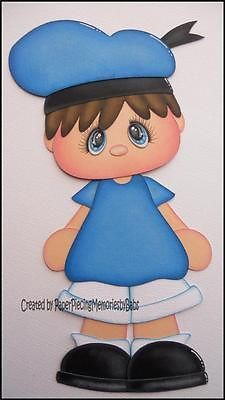Premade Donald Boy Paper Piecing for Scrapbook Pages by Babs | eBay