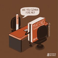 Are you gonna fire me? by Wawawiwa design, via Flickr