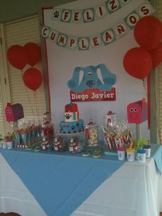 Hostess with the Mostess® - Blues Clues First Birthday