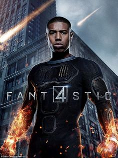 Fighting for what is right:Michael B. Jordan penned a letter to fans and those critical of his casting as The Human Torch in the new Fantastic Four on Friday