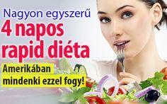 Nagyon hatásos, és nagyon egyszerű. Ezt tudja 4 napos szuper-diéta. Állítólag nincs jobb felkészítő a nyárra. Az eredmény akár 5 kiló mínusz – sültekkel, vagdalttal és salátával.