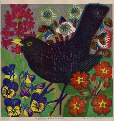 Spring Blackbird artist Matt Underwood.