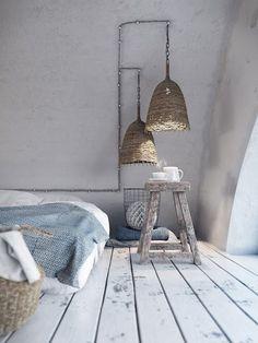 Home accessories ideas bycocoon.com | decor | modern | bedroom | baskets | wooden bed | interior design | Dutch Designer Brand COCOON