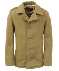 Schott 798 Men's Wool M41 Field Coat - Olive