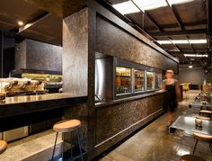 Code Black roastery by Zwei Interiors Architecture, Melbourne hotels and restaurants