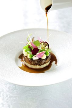 Tapas, Gourmet Recipes, Dessert Recipes, Michelin Star Food, Fancy Dishes, Bistro Food, Deli Food, What To Cook, Food Presentation