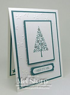 Tree Christmas card
