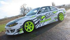 nissan-s15-race-white-volk-highlight-green   Rides & Styling