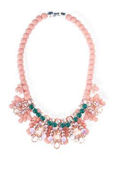 Jete entrelace necklace by EK THONGPRASERT for Preorder on Moda Operandi