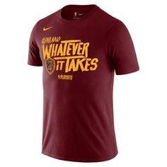 34.99 Men s Cleveland Cavaliers Nike Wine 2018 NBA Playoffs Mantra Legend  T-Shirt. NBA 0066dbd41dc
