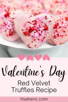 Instant Pot Valentine's Day Truffles Recipe Baking Recipes, Dessert Recipes, Easy Recipes, Dishes Recipes, Baking Ideas, Healthy Desserts, Delicious Desserts, Yummy Food, Desert Recipes