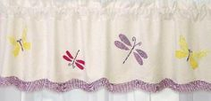 Purple Green Butterfly Dragonfly Bedding Little Girls Twin Kids Quilt Set Cotton Bedspread Kitchen Window Treatments, Kitchen Valances, Green Butterfly, Have A Beautiful Day, Lowes Home Improvements, Quilt Sets, Rod Pocket, Drapes Curtains, Bed Spreads