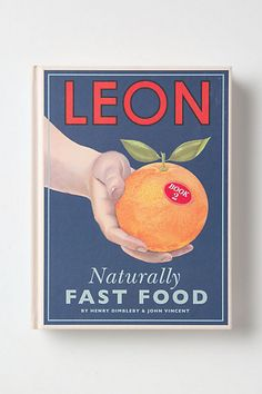 """Naturally Fast Food"".Saw this book in my first real life Anthropologie store this past week. It has a lot of great recipes!"