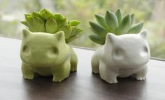 Not that I have any desire to shorten a Bulbasaur's lifespan with my brown thumb, but the idea is cute.