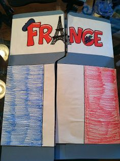See Homeschool Share's France Country Lapbook Study at Karmen Creates! Teaching Geography, World Geography, Teaching Kids, France Geography, Geography Activities, Teaching Spanish, Classroom Activities, Social Studies Projects, Teaching Social Studies