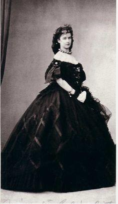 Empress Elisabeth in Venice, 1860s