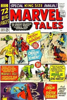 MARVEL TALES ANNUAL 2 SILVER AGE MARVEL COMICS