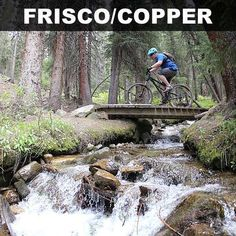 The Frisco Adventure Park features fast, hard-packed trails and killer terrain park, while its sister-resort Copper Mountain runs lifts all summer long. With a recpath linking over epic Vail Pass for the roadies, Frisco and Copper Mountain might just be the dark-horse favorite to win this year's Colorado Bike Town Showdown.Image courtesy of Copper Mountain - coppercolorado.com