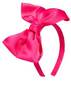 Johnny Loves Rosie Oversized Bow Alice Band, $25