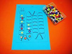 Activities for 3 years old kid.  #activities #Homeschool #Motessori