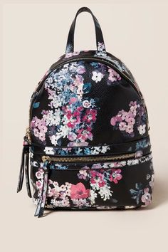 Darcy Floral Mini Backpack