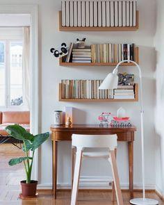 Un petit coin bureau entre ancien et moderne