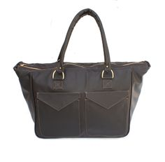 Black designer bag for man