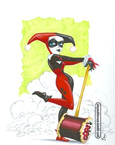 Sometimes you just need a Classic Harley. NYCC commission - amymebberson.tumblr.com