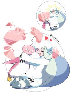 Melony and Eiscue - Pokemon SwSh by on DeviantArt Ice Pokemon, Pokemon People, Pokemon Fan Art, Pokemon Images, Pokemon Pictures, Female Pokemon Trainers, Pokemon Tattoo, Gym Leaders, Cartoon Tv Shows