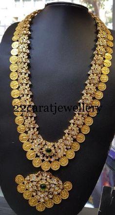 Silver Kasu Mala Necklace and Pendant Designs