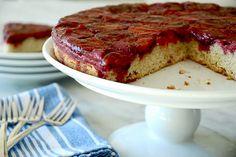 upside down italian prune plum cake