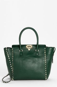 Valentino 'Rockstud New' Leather Tote