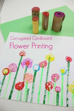 Recycled crafts are great and this one is a winner! Corrugated cardboard can be found all over the place, it's used to strengthen packaging – so if you are ever… Easy Crafts For Kids, Craft Activities For Kids, Toddler Crafts, Diy For Kids, Fun Crafts, Toddler Art, Indoor Activities, Educational Activities, Creative Crafts